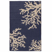 Blue Sea Reef Rug Collection
