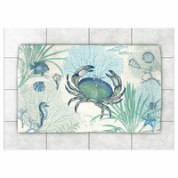 Blue Sea Life Rug Collection