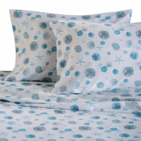 Blue Shells Sheet Set - King - OUT OF STOCK
