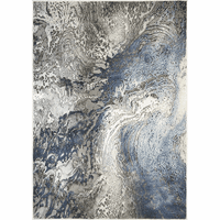 Blue Splash Rug Collection