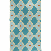 Blue Tile Indoor/Outdoor Rug Collection