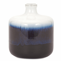 Blue & White Fade Vase - Small