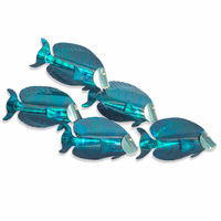 Bluefish 3-D Metal Wall Art