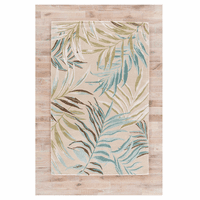 Boardwalk Garden Cream Rug - 10 x 14