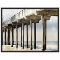 Boardwalk III Framed Print