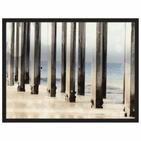 Boardwalk IV Framed Print