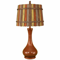 Boardwalk Pumpkin Table Lamp