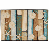 Boardwalk Sea Life Bath/Kitchen Rug