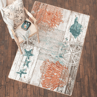 Boardwalk Sea Life Rug Collection