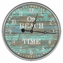 Boardwalk Welcome Wall Clock
