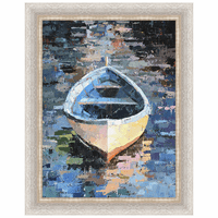 Boat XVIII Framed Canvas