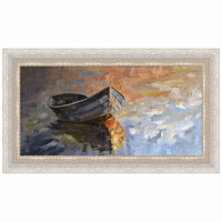 Boat XXIII Framed Canvas