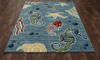 Boca Chica Life Rug Collection