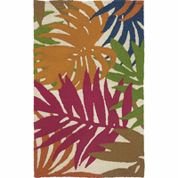 Bold Fronds Indoor/Outdoor Rug Collection