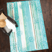 Bora Bora Ocean Rug Collection