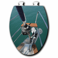 Bow at Sea Toilet Seats