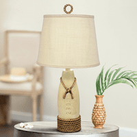 White Buoy Table Lamp