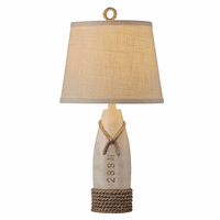 Bowline White Table Lamp