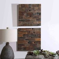 Bowline Wood Wall Art - Set of 2