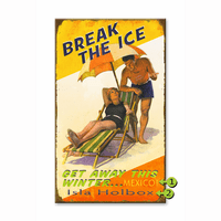 Break the Ice Personalized Signs