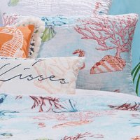 Bright Coral Reef Standard Sham - OVERSTOCK