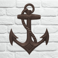 Bronze Anchor Wall Décor