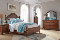 Brown Isle of Palms Bedroom Collection