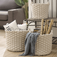 Brunswick Bay Rope Baskets - Set of 3