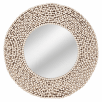 Brunswick Bay Wooden Bead Mirror