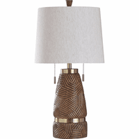 Brushed Sand Table Lamp