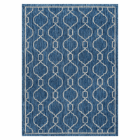 Bungalow Indigo Indoor/Outdoor Rug Collection
