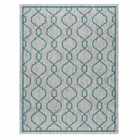 Bungalow Teal Indoor/Outdoor Rug Collection