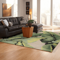 Cabana Palm Green Indoor/Outdoor Rug Collection