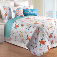 Caicos Quilt Bed Set - Twin