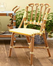 Camille Rattan Dining Chair