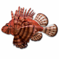 Canberra Lionfish Metal Wall Art