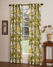 Cancun Grommet Top Curtains - Set of 2