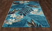 Canna Flower Rug Collection
