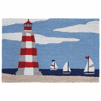 Cape Cod Lighthouse Indoor/Outdoor Rug Collection