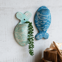 Cape Town Fish Wall Planters - Set of 2