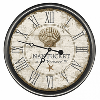 Capeside Shells Personalized Wall Clock