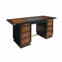 Captain's Desk - Black