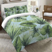 Caribbean Forest Duvet Cover - King