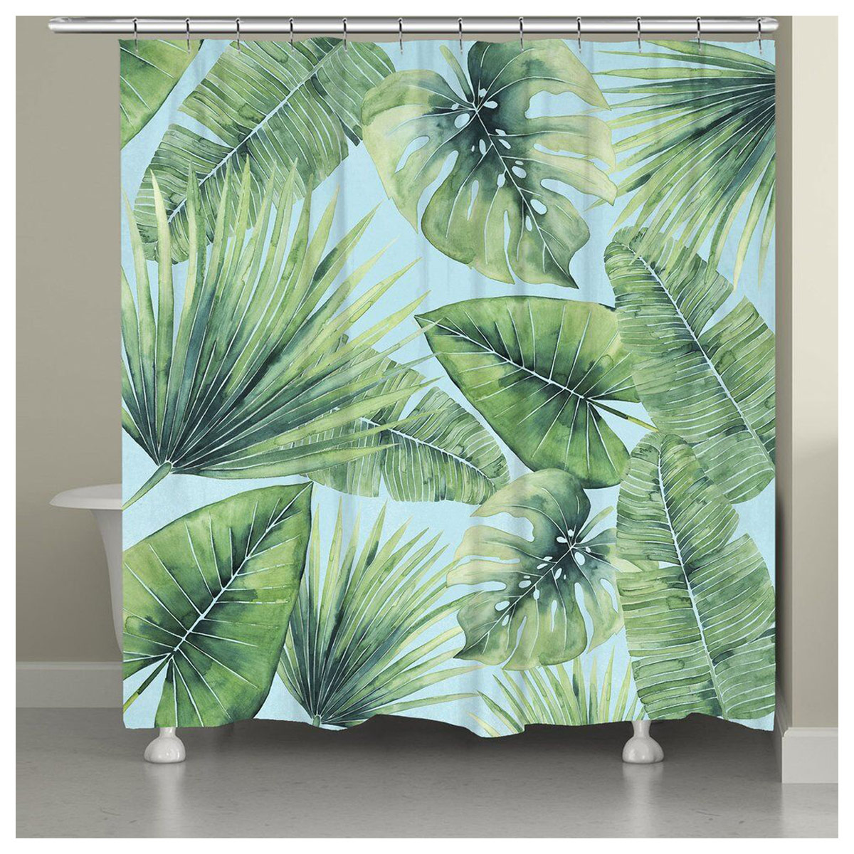 Caribbean Forest Shower Curtain