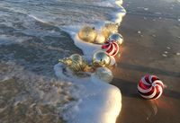 Casual Touches for Your Coastal Christmas Decor