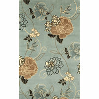 Catalina Blue and Beige Paradise Rug Collection