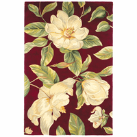 Catalina Red Magnolia Rug Collection
