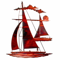 Catch and Sail Metal Wall Art