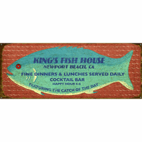 Catch of the Day Personalized Signs