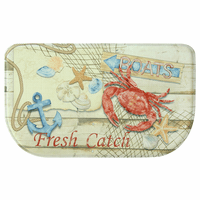 Catch of the Day Slice Memory Foam Mat